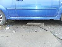 FORD FIESTA ST150 SIDESKIRTS, BREAKING WHOLE CAR