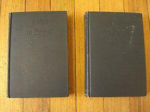 Joseph in Egypt, 1st Ed./6th prnt.,Thomas Mann, (2 Vol.) Alfred A. Knopf, 1938