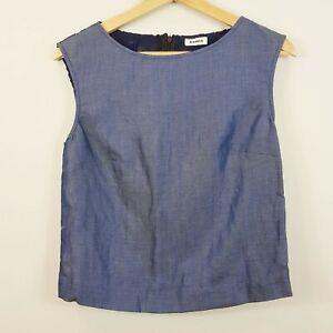 [ MARCS ] Womens Sleeveless Top w/ star crochet detail   Size AU 8