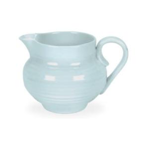 Portmeirion Sophie Conran Porcelain Creamer Jug, 10-Ounce - Celadon