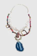 Modeschmuck-Halsketten & -Anhänger aus gemischten Metallen natürliche