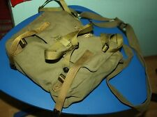 Bread bag Romania  complete with straps cold war Army Armee Brotbeutel RUMÄNIEN