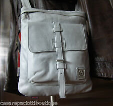 Belstaff Messenger Leather Speed Courier Shoulder Cross Body Bag Biker Style NWT
