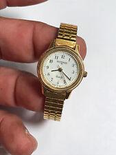 Nice Ladies Gold Tone Withnauer Analog Watch