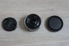 Sony E-Mount SEL16F28 Objektiv wie NEU 2x benutzt SEL 16mm