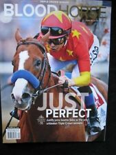 2018 JUSTIFY~TRIPLE CROWN~BELMONT STAKES EDITION~BLOOD HORSE~FREE SHIPPING