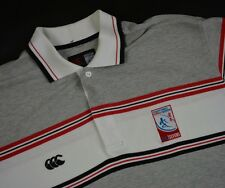 Men's CANTERBURY Hong Kong Football Club Rugby Polo T-Shirt Size M