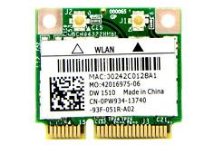 Notebook BroadCom, WLAN Mini PCI Express Karte DW1510, BCM94322HM8L, P/N: 0PW934