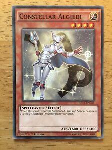 Constellar Algiedi Yugioh Trading Card SP15-EN007 1st Edition