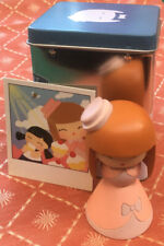 Vintage Momiji 'Lolita' Japanese Doll Girl Figurine Sugar & Spice In Tin Box