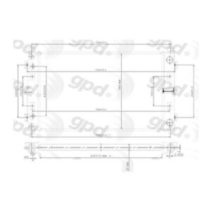 Radiator Omega Environmental 24-80745