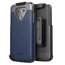 LG G6 Vegan Leather Belt Clip Holster Case Artura Collection by Encased