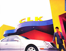 1998  Mercedes-Benz CLK Sales Brochure w/Paint Chips & Interior Colors