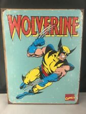 """Marvel Characters Wolverine Tin Sign 16"""" X 12.5""""(Wolverine Retro)"""