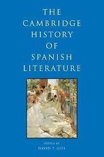 The Cambridge History of Spanish Literature (2009, Paperback)