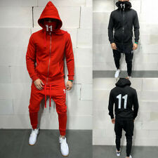 Man's Tracksuit Sport Suit Hoodie Sweatsuit Sweatshirt Pullover Jacket Pant Set