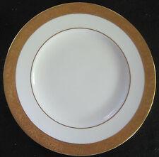 WEDGWOOD ASCOT WHITE AND GOLD FINE BONE CHINA SALAD PLATE