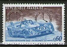 TIMBRE 1761 NEUF XX LUXE - 24 HEURES DU MANS - VOITURE DE COURSE