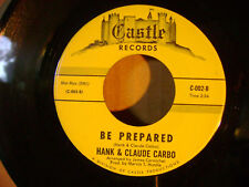 MINT/M- ORIGINAL NORTHERN SOUL 45~HANK CARBO~BE PREPARED/I STILL LOVE HER