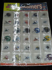 1997 Zoomers Magic Motion NFL Removable Helmet Stickers NIP