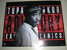 """Tupac / Poster # s3786 / Exc.+ New condition / """"2005"""" / 16x20"""""""