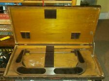 "Brown and Sharpe 15"" Outside Micrometer / Standard / Wooden Case / NICE!"