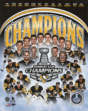 Pittsburgh Penguins 2016 Stanley Cup Champions 8x10 Team Composite Photo