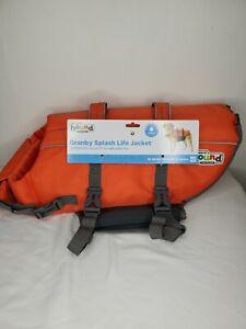 """Outward Hound Dog Life Jacket Large Orange 55 - 85LBS, 28-32"""""""