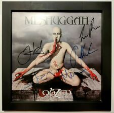 MESHUGGAH – Obzen – GREY 2LP (LTD 1000) – FULLY SIGNED by the ORIGINAL LINEUP!