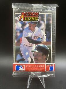 1985 Donruss Action All-Stars SEALED Pack - Wads Boggs On Front