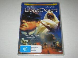 Lion Of The Desert - Oliver Reed - Brand New & Sealed - Region 0 - DVD - Rare