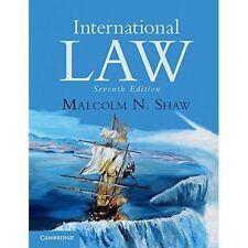 International Law by Malcolm N. Shaw (Paperback, 2014, 7th ed)