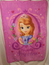 "Disney Princess Sophia the First blanket  soft baby fleece 42"" x 59"""