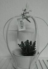 Runde Markenlose Deko-Blumentöpfe & -Vasen im Shabby-Stil