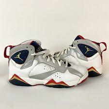 Jordan 7 Retro GS Olympic 2012 304774 135 Size 7