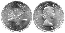 Canada 1964 Silver 25 Cents Choice BU UNC MS-63 Quarter!!