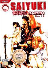 Gensomaden Saiyuki Gaiden ( 1 - 3 OVA ) English Sub _ DVD Anime _ Regin All