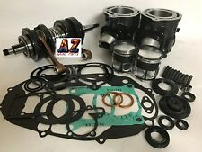 Banshee YFZ 350 Stock Bore Cylinders Crank Pistons Complete Motor Rebuild Kit