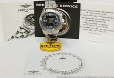 Breitling Professional Series B1 Steel Chronograph Mens Watch w Booklets Tag