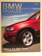 BMW Magazine March 2001: X5 in Scotland, 3 Series in Italy, American Le Mans