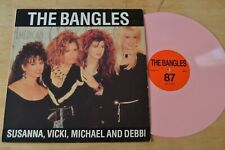 The Bangles ‎– Limited Edition Interview Pink Vinyl LP EGYPT10 Rare