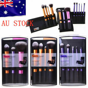 Real Techniques Everyday Essentials Makeup Brush Complete Face Set AU STOCK