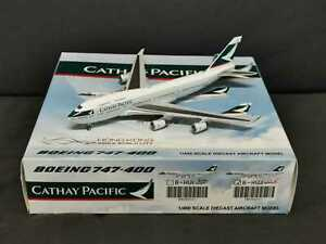 Exclusive! Cathay Pacific Boeing 747-400 B-HUJ JC Wings 1:400 Diecast Models