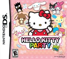 Hello Kitty Party Nintendo DS Brand New Fast Shipping