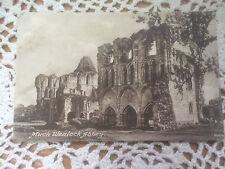 Original Vintage Postcard-Much Wenlock Abbey, Shropshire-Unposted