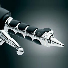 """Motor Chrome 1"""" Hand Grips Fit Harley Davidson Dyna Softail Sportster Touring"""