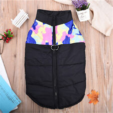 Waterproof Winter Warm Clothes Padded Coat Pet Vest Jacket for Small/ Large Dog