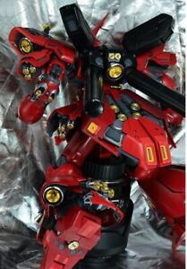 Metal Details Golden Part Set For Bandai 1/100 MG Sazabi ver Ka Gundam Kit ❶USA❶