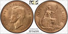 1949 Great Britain PCGS MS64RD S-4117 Top Pop Only 7 exist RicksCafeAmerican.com