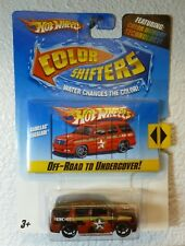 HOT WHEELS Color Shifters - Off Road to Undercover CADILLAC ESCALADE